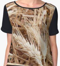 Spikes of ripe wheat Chiffon Top