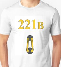 Sherlock 221B Door with knocker (Straight) T-Shirt