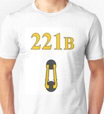 Sherlock 221B Door with knocker (Straight) Unisex T-Shirt