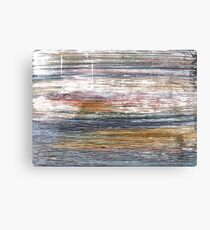 Spanish gray abstract watercolor background Canvas Print