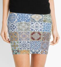 Set of 48 ceramic tiles patterns Mini Skirt