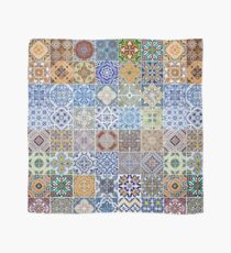 Set of 48 ceramic tiles patterns Scarf