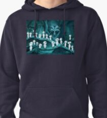 Studio Ghibli's - Kodama and the Forest Spirit Pullover Hoodie