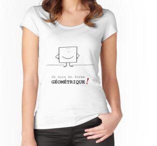 T-shirts échancrés