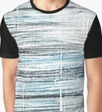 Ghost white abstract watercolor background Graphic T-Shirt