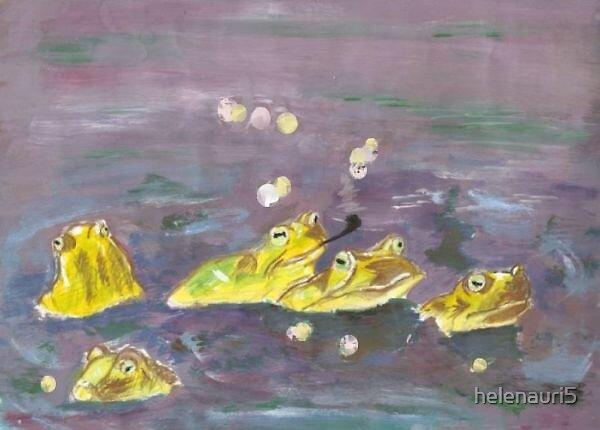 frogs by helenauri5