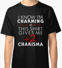 Charismatic Unisex T-Shirt- Dungeons and Dragons Classic T-Shirt