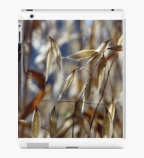 Dried gold oat ears  iPad Case/Skin