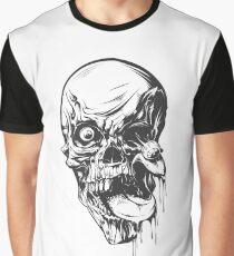 Disturbed Skull Graphic T-Shirt