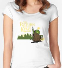Return of the King Women's Fitted Scoop T-Shirt