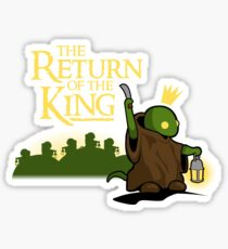 Return of the King Sticker