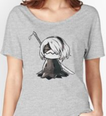 2B Mimikyu - Nier Automata Pokemon Women's Relaxed Fit T-Shirt