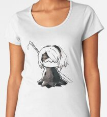 2B Mimikyu - Nier Automata Pokemon Women's Premium T-Shirt