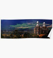 Panorama Shot of Logan Temple Poster