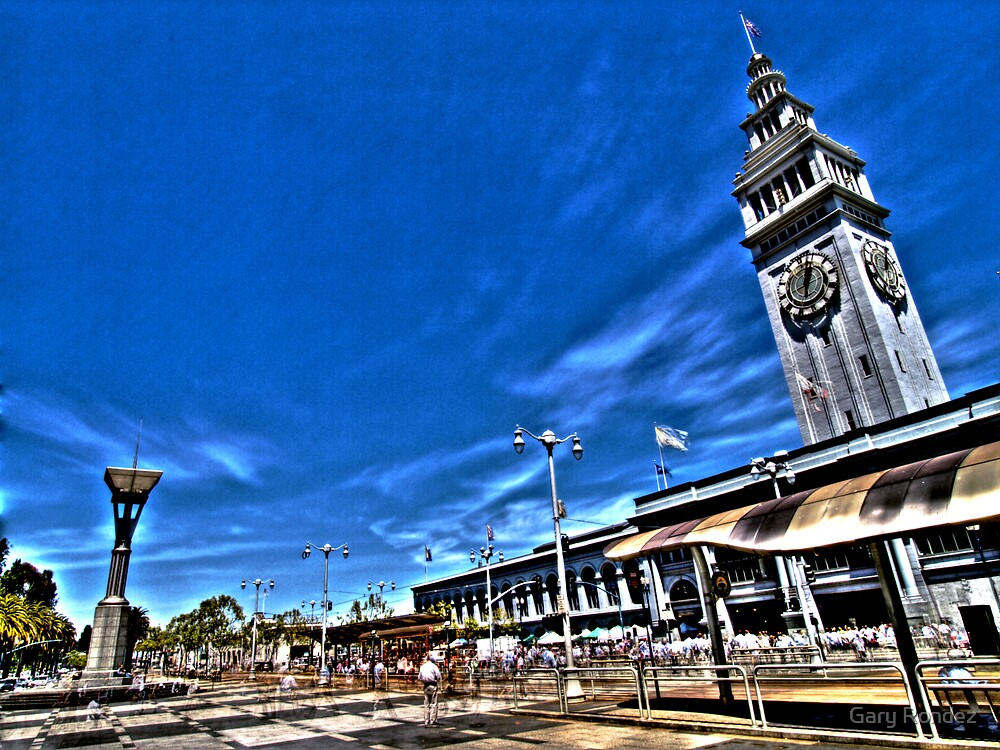 Clock Tower 2 by Gary Rondez