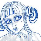 GIRL SKETCH 1 by Laura McDonald