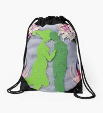 Spring Kiss #3 Drawstring Bag
