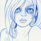 GIRL SKETCH 2  by Laura McDonald