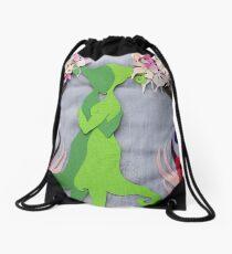Spring Kiss #2 Drawstring Bag