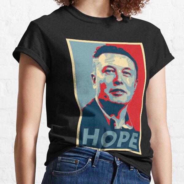 Elon Musk Hope Classic T-Shirt