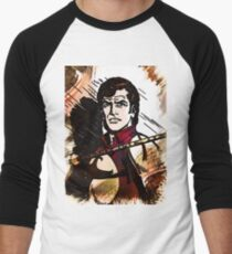 ZAGOR Comic Book HERO Custom Artwork Men's Baseball ¾ T-Shirt
