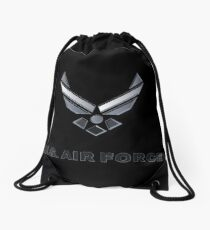 United State Air Force Logo Merchandise Drawstring Bag