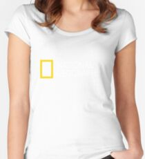 National Geographic Merchandise Women's Fitted Scoop T-Shirt