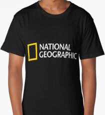 National Geographic Merchandise Long T-Shirt