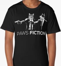 Paws Fiction Long T-Shirt