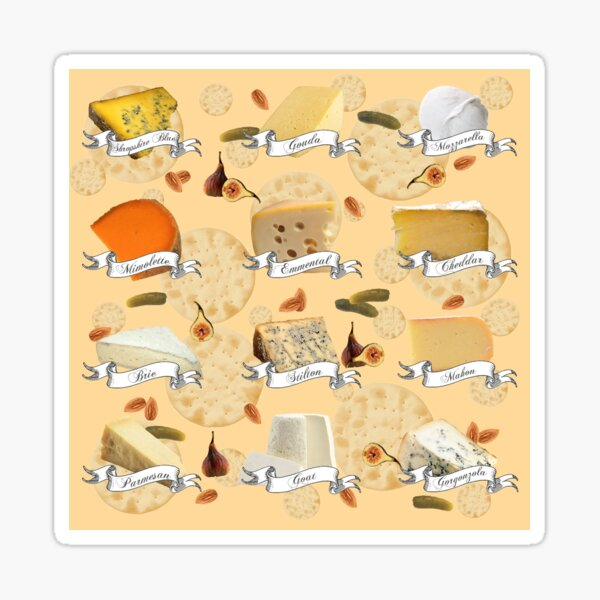 Cheeseplate Sticker