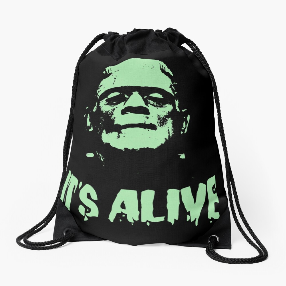 FRANKENSTEIN Drawstring Bag