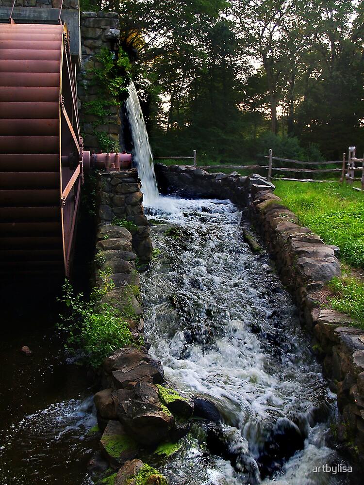 Wayland Inn Grist Mill by artbylisa