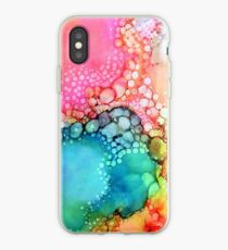 Cotton Candy Bubble iPhone Case