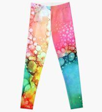 Cotton Candy Bubble Leggings