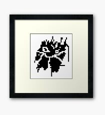 abstract pixel #2 Framed Print
