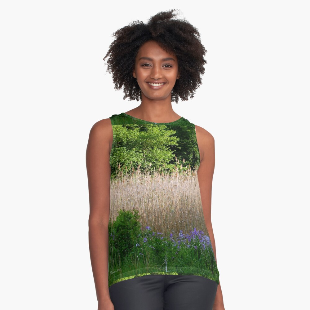 Into the Woods Sleeveless Top