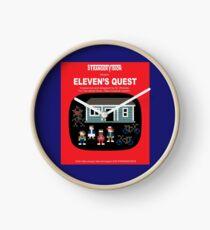 Eleven's Quest Clock