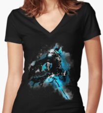 The Lich king Women's Fitted V-Neck T-Shirt