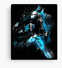 The Lich king Canvas Print