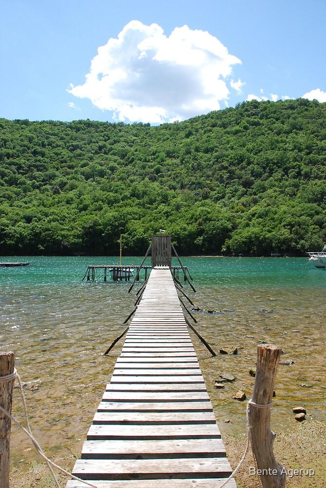 Summer in Croatia by Bente Agerup