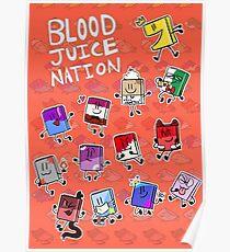 BLOOD JUICE NATION 1 Poster