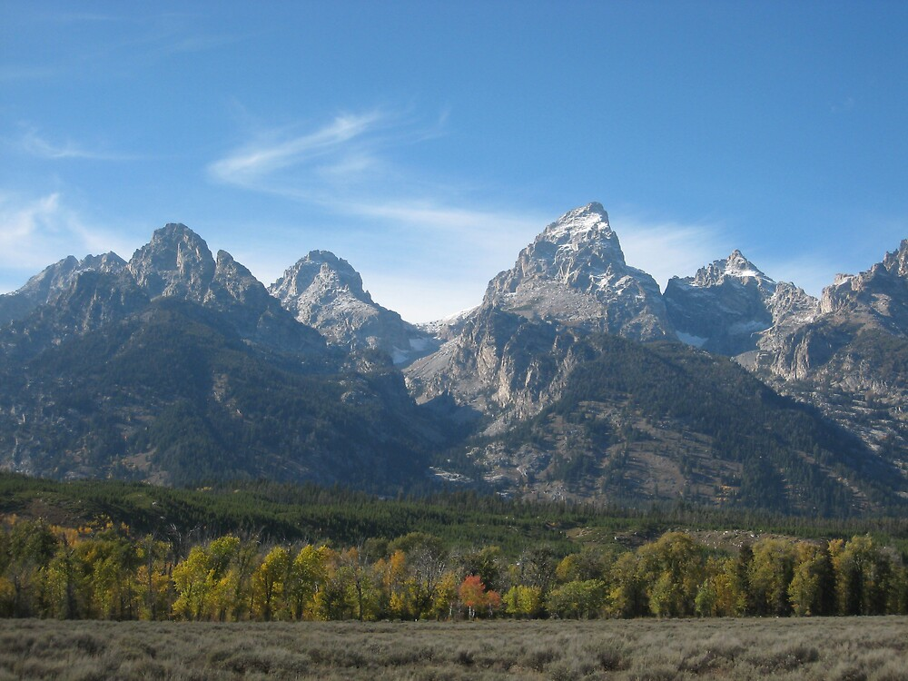 The Tetons by wmolland