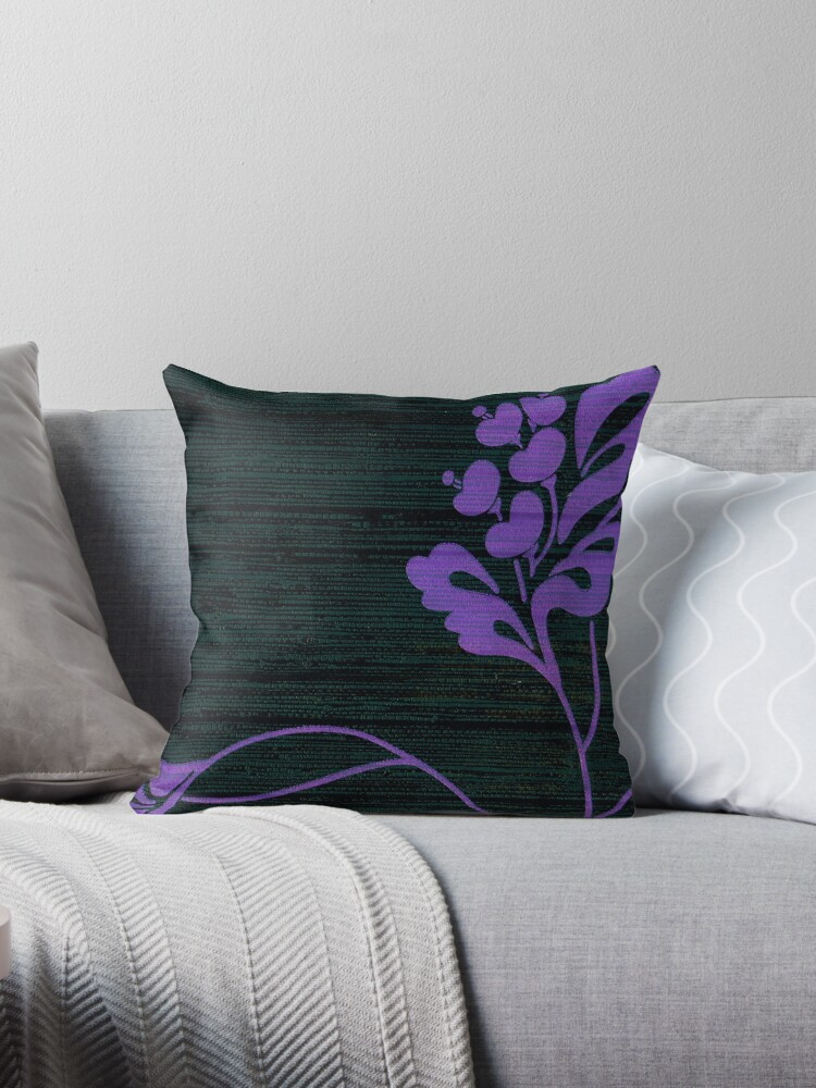 Purple Glamour on Black Weave by writermore