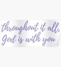God Is With You Poster