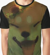 Smiling doge with flower crown Graphic T-Shirt