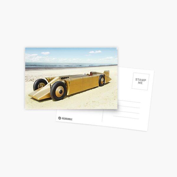 Golden Arrow on Daytona Beach Postcard