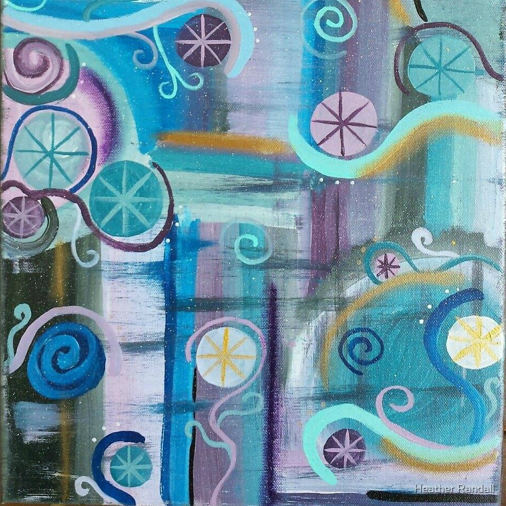Cycles (Close Up) by Heather Randall