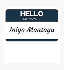 Indigo Montoya Photographic Print