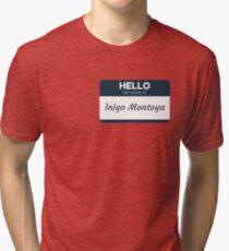 Indigo Montoya Tri-blend T-Shirt