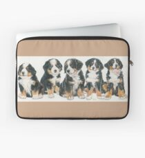 Bernese Mountain Dog Puppies Laptop Sleeve
